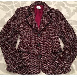 Maternity tweed jacket